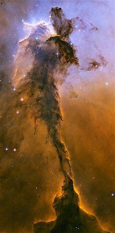 A region of the Eagle Nebula