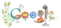 Découverte de la présence d'eau à la surface de la lune Doodle 4 Google, Google Doodles, Child Day, Logo Google, India, Prime Minister, Image, Inspirational Quotes, Inspire
