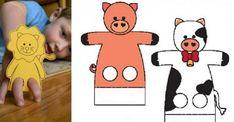 16 patrons gratuits pour fabriquer des marionnettes à doigts! Sock Puppets, Hand Puppets, Finger Puppets, Octopus, Diy For Kids, Scooby Doo, Preschool, Arts And Crafts, Family Guy
