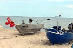 Fischerboote malen auf Rügen | Fischerboote am Strand von Baabe (c) Frank Koebsch (4)