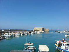 Heraklion - port