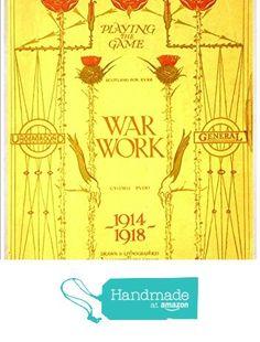 """London Underground - War Work, 1919"" A4 Glossy Vintage Railway Poster Art Print from The Andromeda Print Emporium https://www.amazon.co.uk/dp/B071W9B3LX/ref=hnd_sw_r_pi_dp_agymzbMMXCE91 #handmadeatamazon"