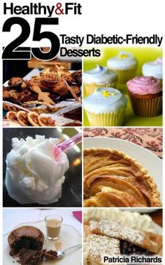 """Free Kindle Book For A Limited Time : Healthy and Fit: 25 Tasty Diabetic-Friendly Desserts - Best Selling Cookbook#1 on Amazon - Cooking, Food & Wine > Special Diet > Diabetic & Sugar-Free (7/3/2012)""""I don't feel like I'm giving up anything with these desserts!""""Having diabetes does not mean you have to give up on sweets and desserts altogether, although it does make it a challenge to find a recipe that's not loaded with sugar, carbohydrates and fat. This collection of diabetic-friendly…"""
