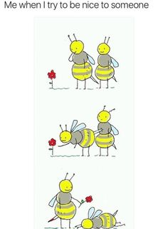 Bee-ing nice - #funny #lol #viralvids #funnypics #EarthPorn more at: http://www.smellifish.com