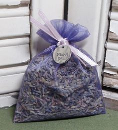 Thank you lavender sachet in an organza by MeadowValleyLavender, $1.00