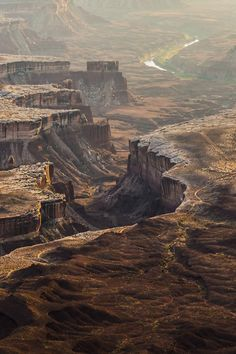 Green River Overlook, where it joins the Colorado River, Canyonlands National Park, Utah by Rick Bergstrom