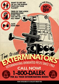 Dalek Exterminators, Tom Trager