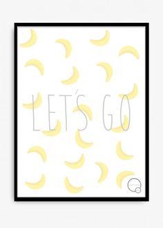 Poster 30 x 40 cm med søt tekst som passer fint på et barnerom. Designet av Kreativitum. 170 g papir. Leveres i rull uten ramme.