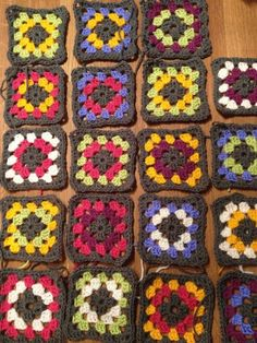 Granny squares in progress. What should I turn them into, any ideas?