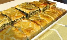 Spanakopita, Veggies, Ethnic Recipes, Food, Vegetable Recipes, Vegetables, Essen, Meals, Yemek