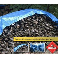 Temporary protective cover for patio furniture, picnic table, grill, air conditioner, sandbox and firewood. Also great as a lawn, garden, construction and repair cleanup aid. Dimensions L x H ( ft.): 20 x 20, UV Inhibitors: Yes, Material Type: Polyethylene, Water Resistant: Yes, Color: Blue, Grommet Material: Rustproof, Material Thickness (mils): 4-5, Grommet Spacing (ft.): 2, Mildew Resistant: Yes