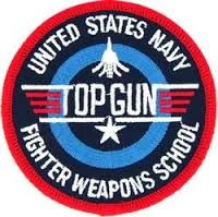 U.S. Navy Top Gun Patch.  I grew up right next door (literally, in Mira Mesa) to N.A.S. Miramar when Top Gun was located there
