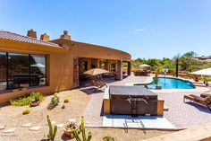Arizona Homes by Angela: Single Level Estate On Private 3 Acres In Fountain...
