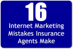 16 Insurance Marketing Mistakes Insurance Agents Make