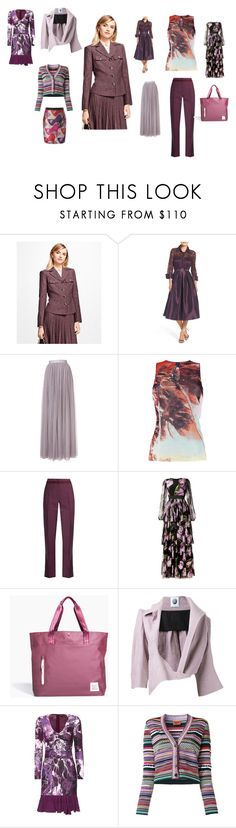 """fantastic set"" by emmamegan-5678 ❤ liked on Polyvore featuring Brooks Brothers, Eliza J, Needle & Thread, Jean-Paul Gaultier, Bottega Veneta, Dolce&Gabbana, Herschel Supply Co., Aganovich, Roberto Cavalli and Missoni"