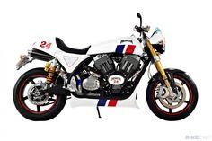 """PAUL SLEEMAN/HESKETH MOTORCYCLE # 1950 Air Coled S&S X """"24"""""""