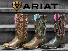 Womens ariat boots from Langstons!!!! Momma needs!!!