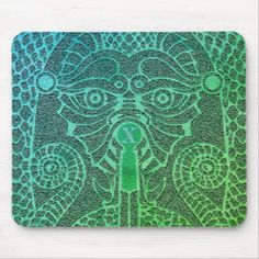 Customizable Abstract Dragon Mousepad green/black Good Luck Chinese, Dragon's Teeth, Chinese Symbols, Dragon Head, Custom Mouse Pads, Day Up, Corner Designs, Mousepad, Custom Clothes