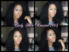 Kendra's Spring/Summer Curly Hair Routine 2015