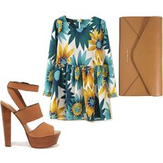 Untitled #69 by holycandyflossbatman on Polyvore featuring polyvore, mode, style, Steve Madden, Vera Bradley, wedding and springwear