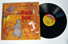 vintage Walt Disney's Songs from The Jungle Book record - 33 RPM album - 1967 - 14.00