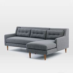 Crosby 2-Piece Chaise Sectional   west elm