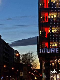 #Sunset Lights on #Milan #shopping mall