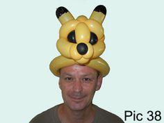 Balloon-O-Therapy Twisting Balloons with FewDoIt: Pokemon Pikachu Head Balloon Twisting Instruction