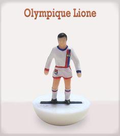 Olympique Lione #subbuteo #edicola #collezione
