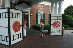 O'Brien Productions - Oriental Theme Party - Entrance Decor. 770-422-7200
