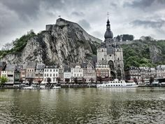 Who wouldn't want to go visit this in Belgium? If you love to explore when you travel (and I do!), then hitting small European towns may just be the thing.  This is Dinant in Wallonia