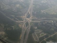 Interchange of I-695 and I-95, Baltimore County ,Maryland #amazingarchitectures #travel