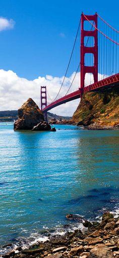 The Golden Gate Bridge #SanFrancisco #USA