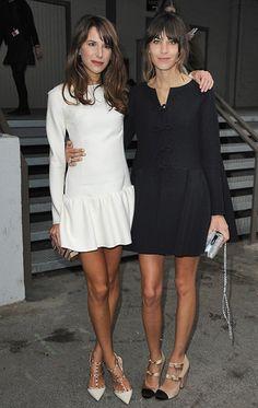 B & W dresses