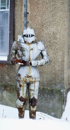 winter knight by thetravelingpear, via Flickr