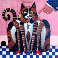 """""""PIRATE"""" began as one of the designs John Simpkins created for an album quilt commissioned by Jean Wells at The Stitchin' Post"""