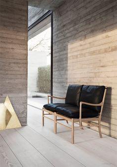 Colonial Collection from Carl Hansen & Son Nordic Furniture, Scandinavian Furniture, Furniture Design, Danish Furniture, Colonial Chair, Colonial Furniture, Sofa Material, Coffee Table Design, Interior Design Tips