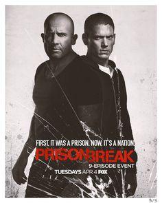 #PrisonBreak - Season 5 Poster