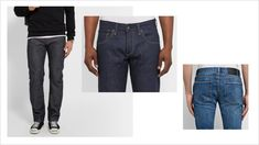 How Your Jeans Should Fit - Skinny Thighs, Skinny Fit Jeans, Big Thighs, Tight Jeans Men, Khaki Jeans, Men's Jeans, Best Jeans For Women, Types Of Jeans, Khaki Dress