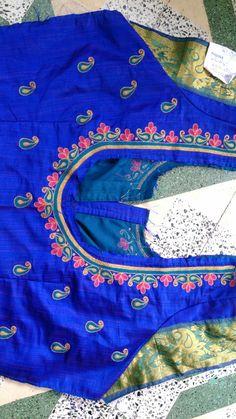 Kerala Saree Blouse Designs, Cutwork Blouse Designs, Kids Blouse Designs, Wedding Saree Blouse Designs, Hand Work Blouse Design, Simple Blouse Designs, Embroidery Neck Designs, Stylish Blouse Design, Blouse Neck Designs
