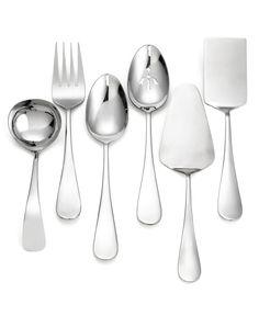 Towle Living Flatware, 6 Piece Serving Set - Flatware & Silverware - Dining & Entertaining - Macy's