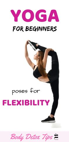 Do you need to improve your body flexibility? Then yoga will help you to improve your flexibility! That's why i have prepared this workout for you. Beginner Yoga poses For Flexibility Quick Weight Loss Tips, Weight Loss Help, Yoga For Weight Loss, Weight Loss Program, Beginner Yoga Workout, Workout For Beginners, Yoga Workouts, Stretching Exercises, Yoga Fitness