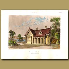30 x 22 cm (12 x 8.7 inches).Inteded for small livingThis  antique engraving was…