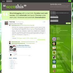 Du short-blogging sans limite de caractères. De la recommandation de liens. Des automatismes pour rédiger facilement vos messages. Des forums sous chaque billet. De la veille d'actualité. Une thématisation avancée.