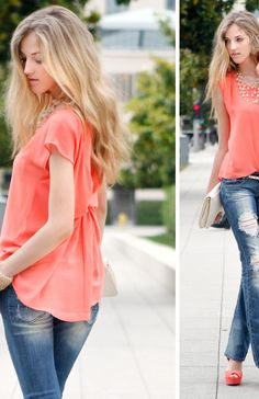 DailyLook: Sun Kist Look by Naked Zebra, Street Level and Machine Jeans