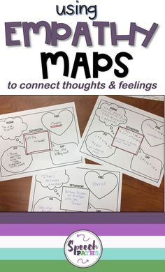 Working with older students in speech therapy and counseling can be challenging!  Here is an easy, fun therapy ideas for middle school and teen students to target emotions, feelings and empathy skills.  There are even links to free worksheets to help students identify and express their emotions!  #emotions #socialskills