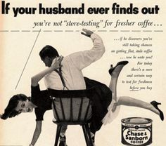 Vintage ads seem appalling by today's standards, but they are quite interested from a socio-historical POV.