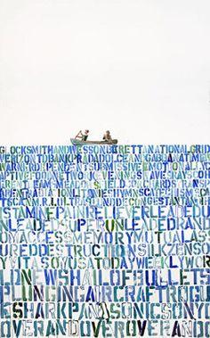 contemporary art by Carl Ferrero