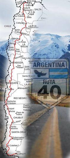 locos por la ruta 40, turismo ruta 40, estado de la ruta 40, recorrido ruta 40 , locos por la ruta 40 facebook, desafío ruta 40, mapas ruta 40, clima ruta 40, hoja de ruta, lugares, parques nacionales, alojamiento ruta 40 Ushuaia, City Sky, South America Travel, Rv Travel, Tropical Paradise, Patagonia, Tourism, Road Trip, Geography