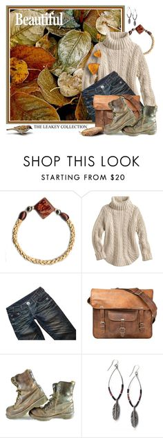 """""""A Walk in the Woods"""" by theleakeycollection ❤ liked on Polyvore featuring Thomas Wylde, CO, Dr. Martens, autumn, theleakeycollection, leakeycollection and Autumncolors"""
